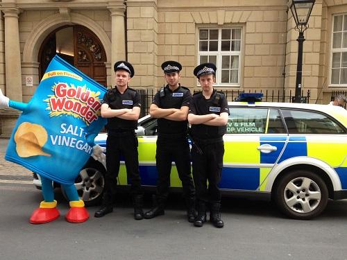hire people for PR Stunts Glasgow