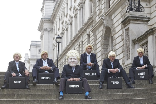 rent a crowd for a PR Stunt London