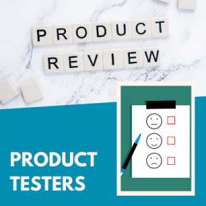 PRODUCT TESTERS