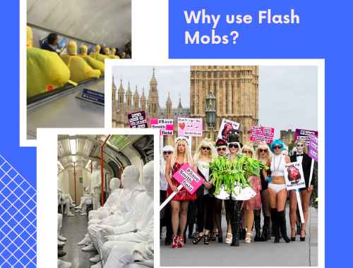 Why Use Flash Mobs